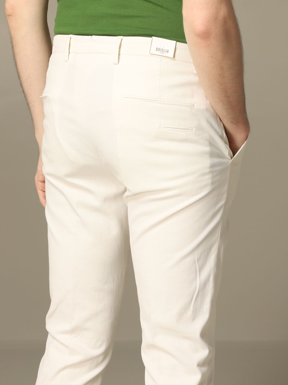 Pantalon homme Briglia blanc 3