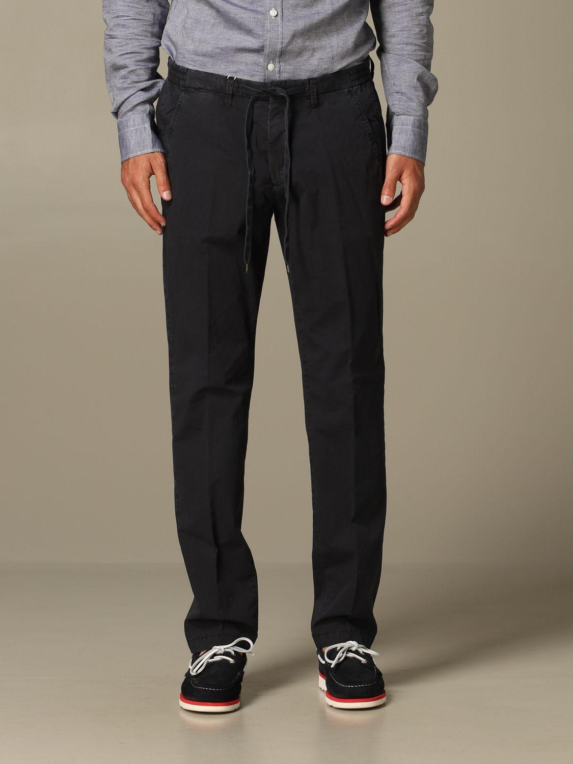 Pants Briglia: Pants men Briglia blue 1