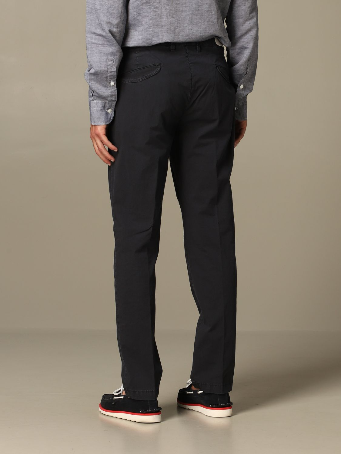 Pants Briglia: Pants men Briglia blue 2