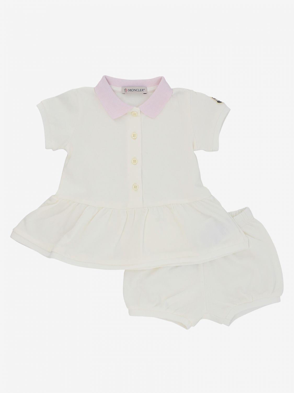 Moncler 连衣裙短裤童装 奶油黄 1