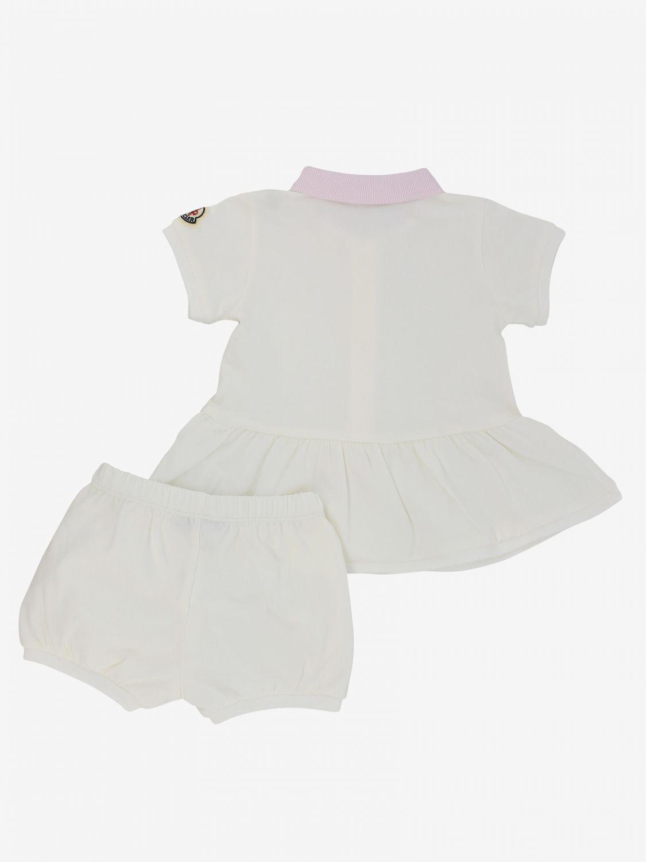 Moncler 连衣裙短裤童装 奶油黄 2