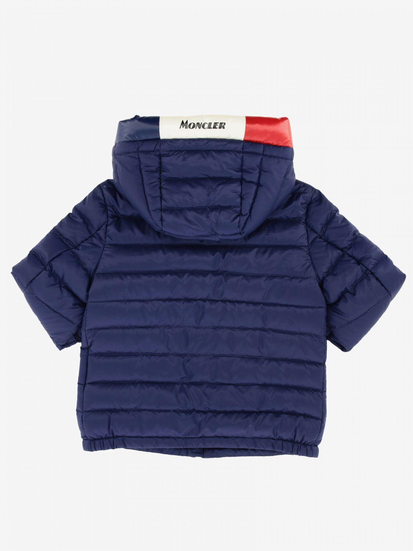 Abrigo niños Moncler azul oscuro 2