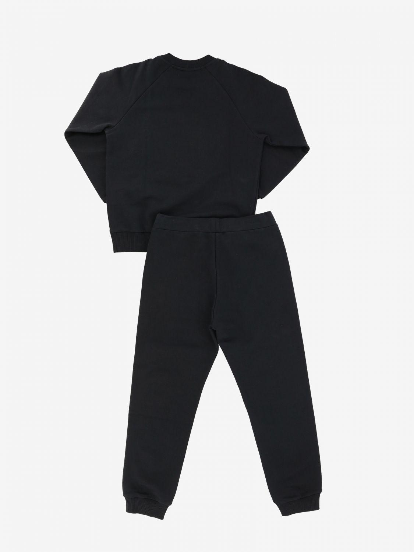 Ensemble sweat + combinaison Versace Young avec imprimé tête de méduse noir 2
