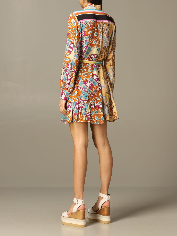 Платье Женское Pinko оранжевый 2