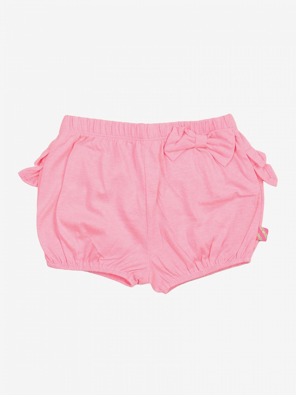 Pantaloncino Billieblush: Pantaloncino bambino Billieblush rosa 1
