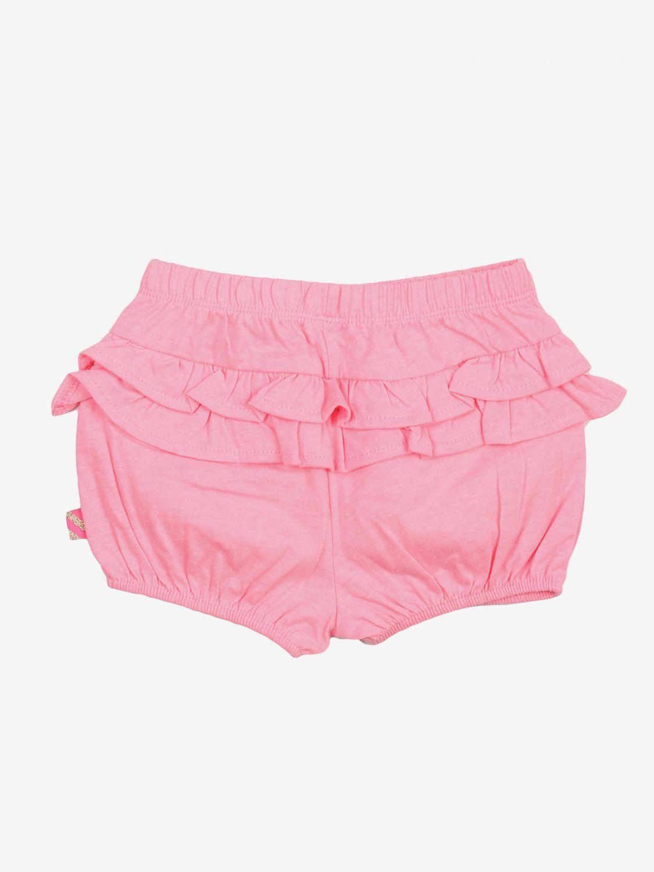 Pantaloncino Billieblush: Pantaloncino bambino Billieblush rosa 2