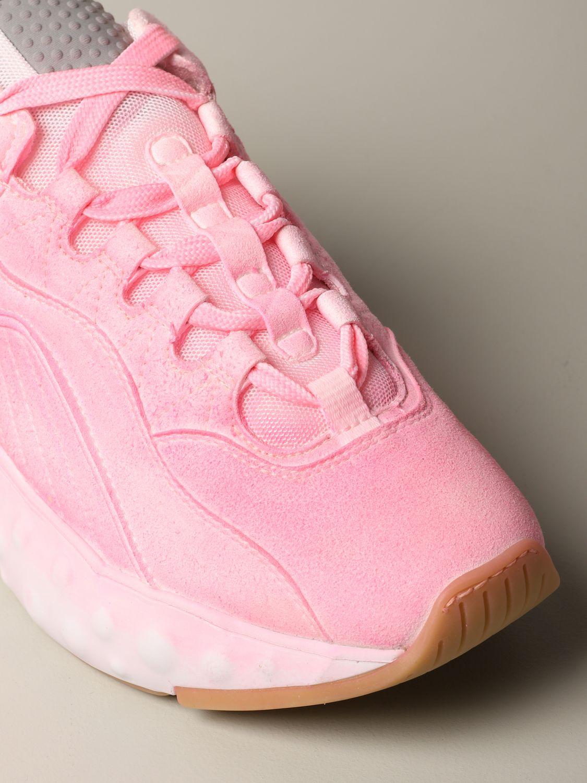 运动鞋 Acne Studios: Acne Studios 喷漆效果运动鞋 粉色 4