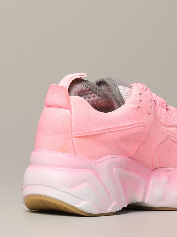 运动鞋 Acne Studios: Acne Studios 喷漆效果运动鞋 粉色 5