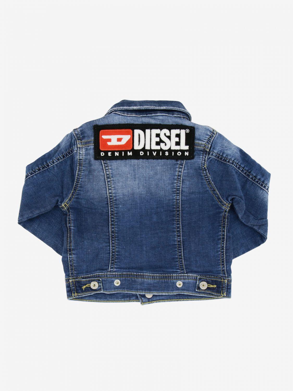 Coat Diesel: Coat kids Diesel denim 2