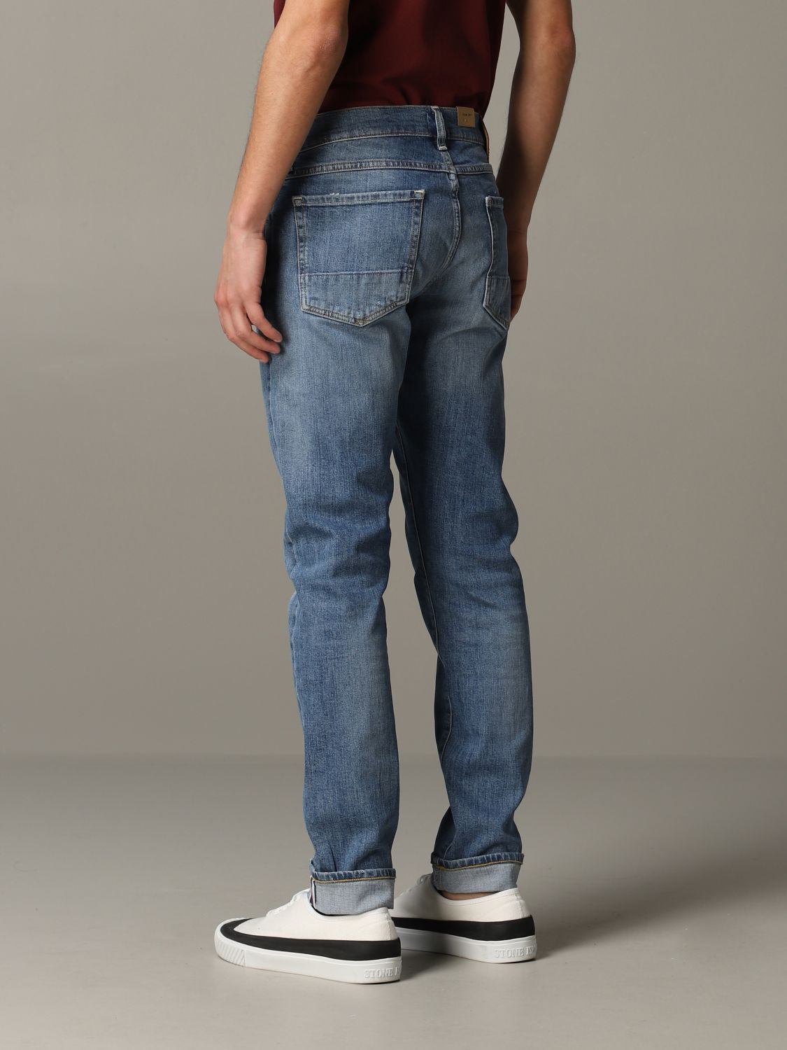 Jeans Tela Geneva in denim used stretch blue 3