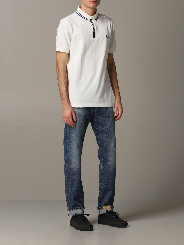 Jeans Tela Genova in denim stretch blue 2