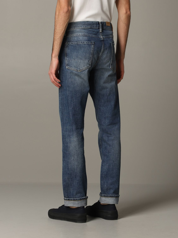 Jeans Tela Genova in denim stretch blue 3