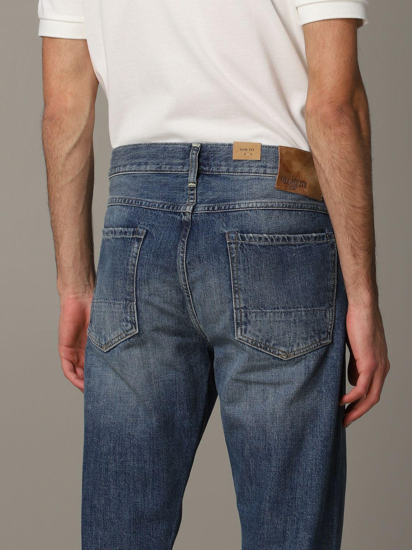 Jeans Tela Genova in denim stretch blue 5