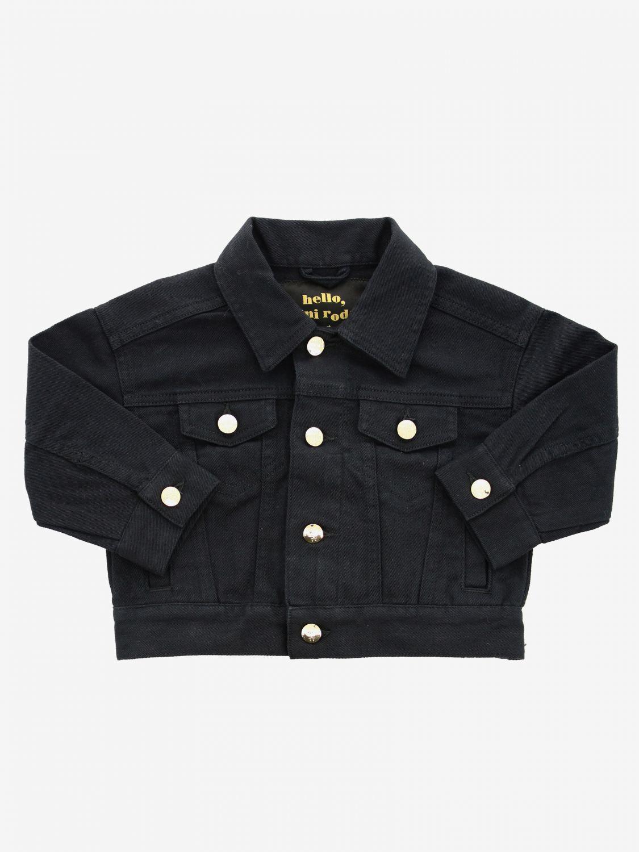 Jacket kids Mini Rodini black 1
