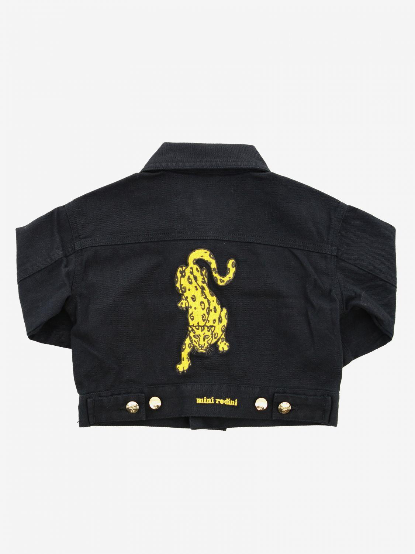 Jacket kids Mini Rodini black 2