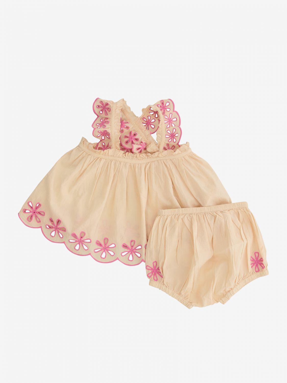 Stella McCartney romper with shorts pink 1