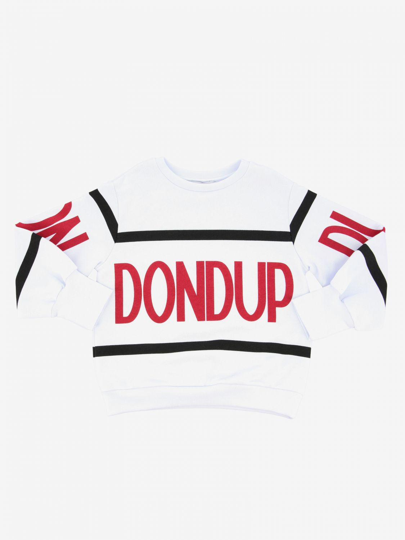 Maglia Dondup: Maglia Dondup a girocollo con logo bianco 1