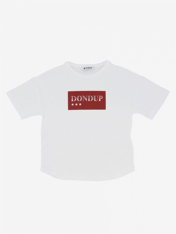 T-shirt Dondup: T-shirt kids Dondup white 1 1