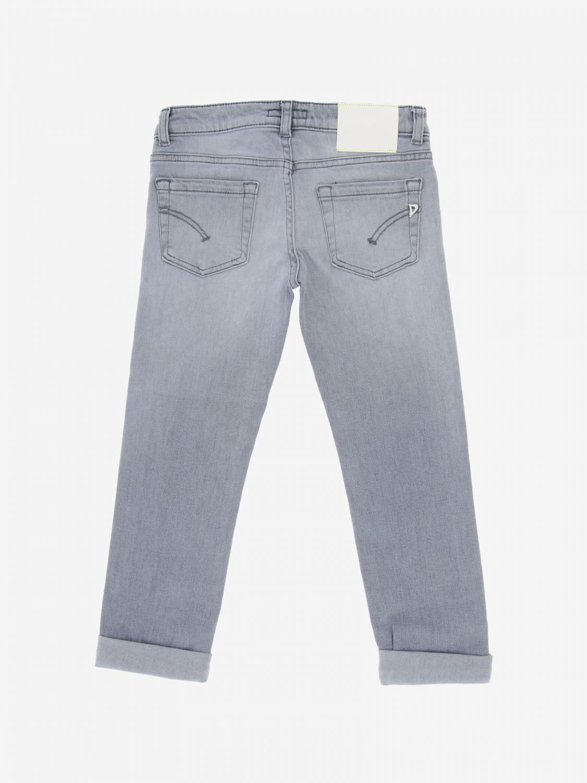 Jeans Dondup a vita bassa grigio 2