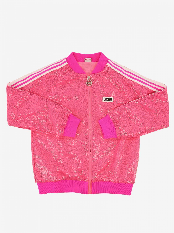Jacket kids Gcds fuchsia 1