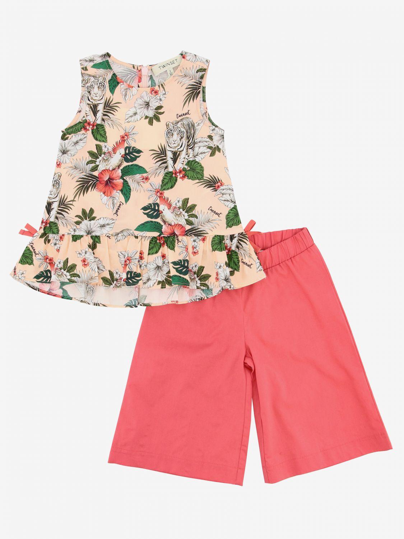 Twin Set 上衣裤子套装 粉色 1