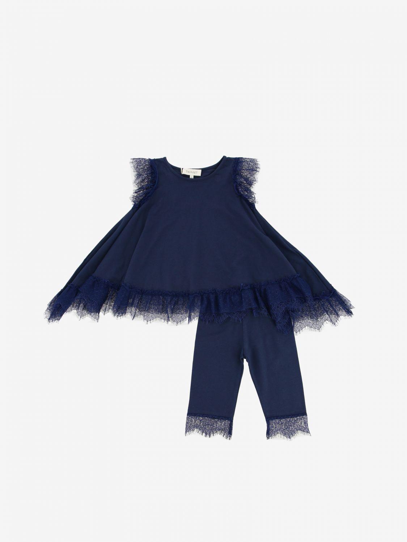 Twin Set 打底裤上衣套装 蓝色 1