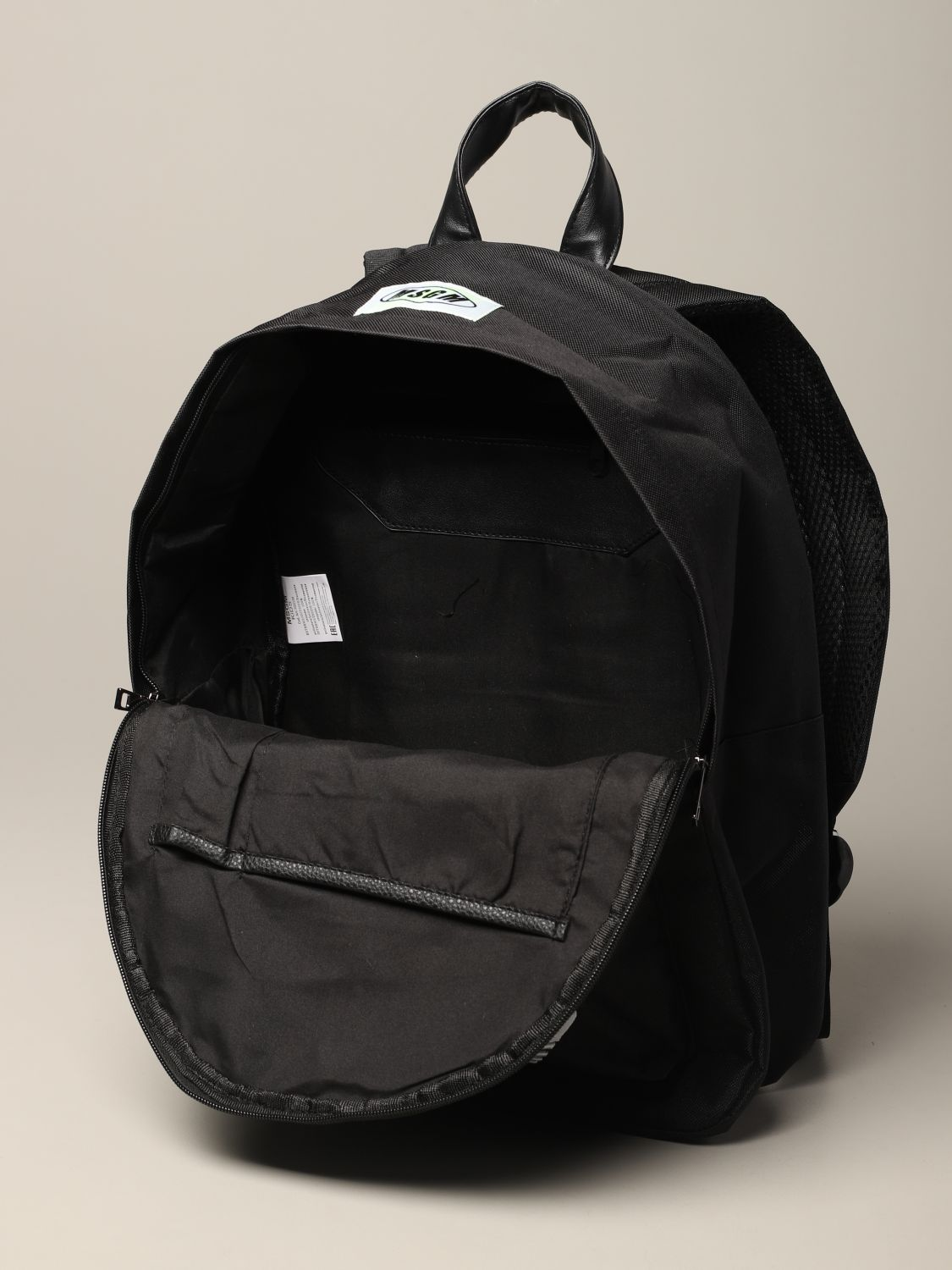 Duffel bag kids Msgm Kids black 5