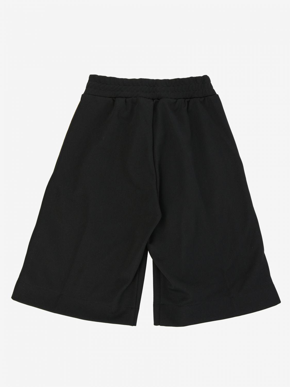 Short de jogging Fendi avec bandes FF all over noir 2