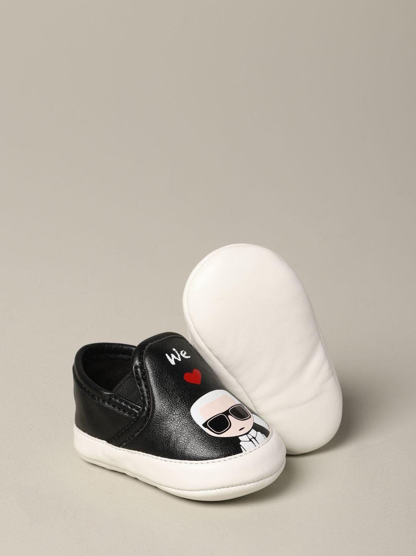 Schuhe kinder Karl Lagerfeld Kids schwarz 2