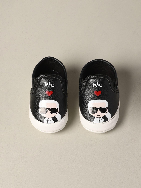 Schuhe kinder Karl Lagerfeld Kids schwarz 3