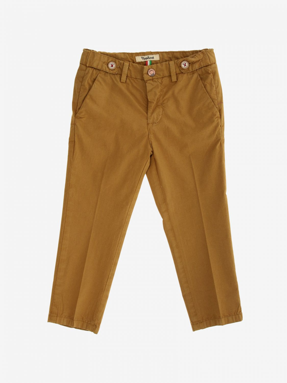 Pantalone Nupkeet classico cammello 1