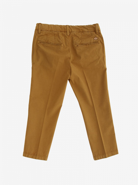 Pantalone Nupkeet classico cammello 2