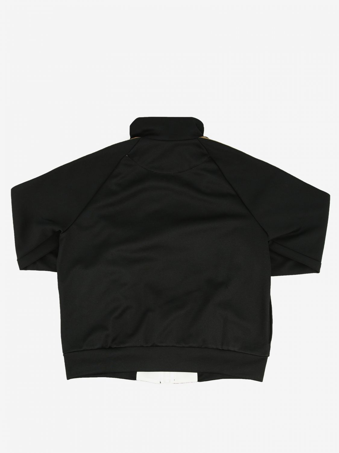 Fendi sweatshirt with zip and FF all over bands black 2