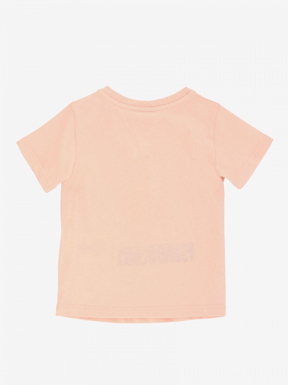 Fendi 印花短袖T恤 粉色 2