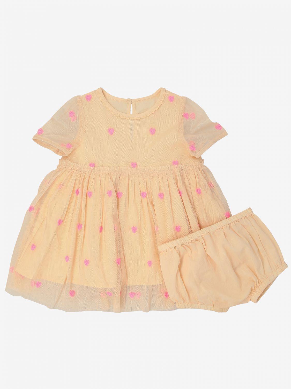 Stella Mccartney 心形印花连衣裙 粉色 1