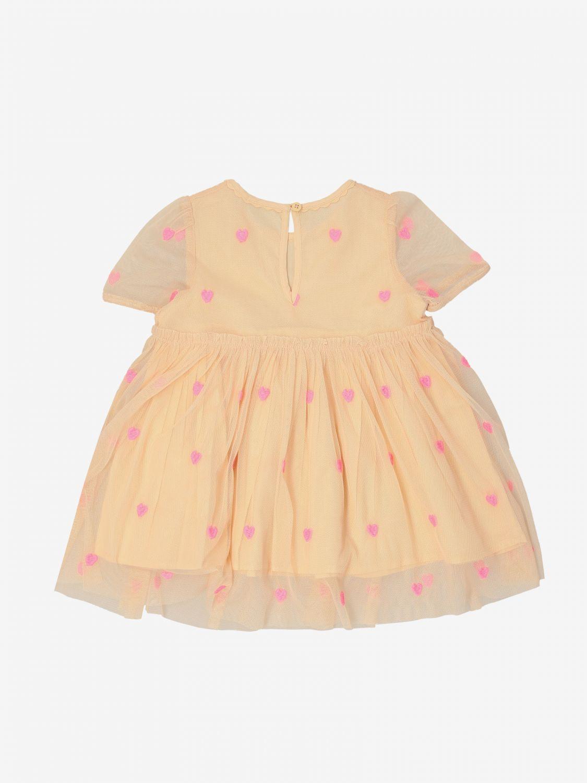 Stella Mccartney 心形印花连衣裙 粉色 2