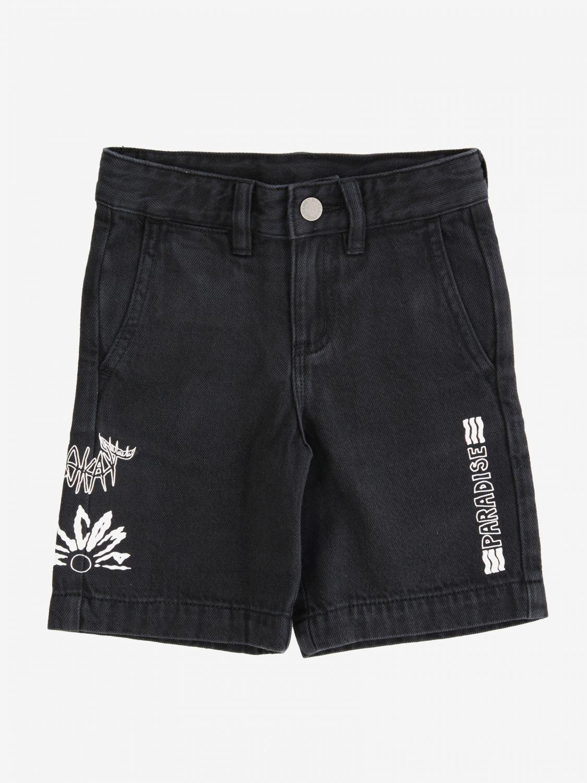 Stella McCartney shorts with logo black 1