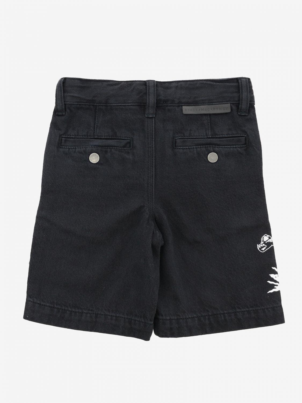 Stella McCartney shorts with logo black 2