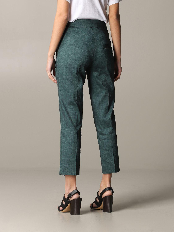 Pantalone Tela regular fit verde 3