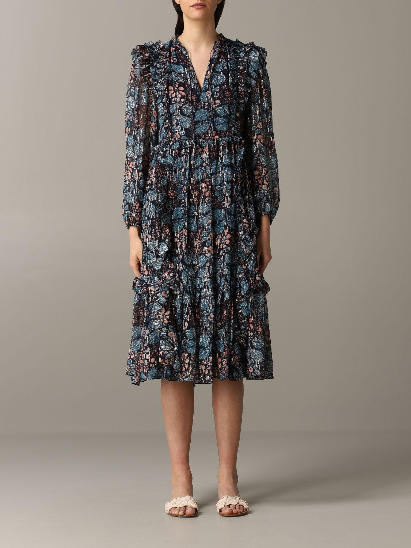 Robes Ulla Johnson: Robe à motif floral Ulla Johnson multicolore 1