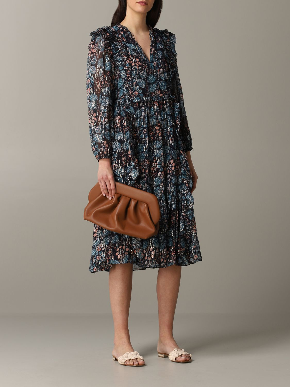 Robes Ulla Johnson: Robe à motif floral Ulla Johnson multicolore 2