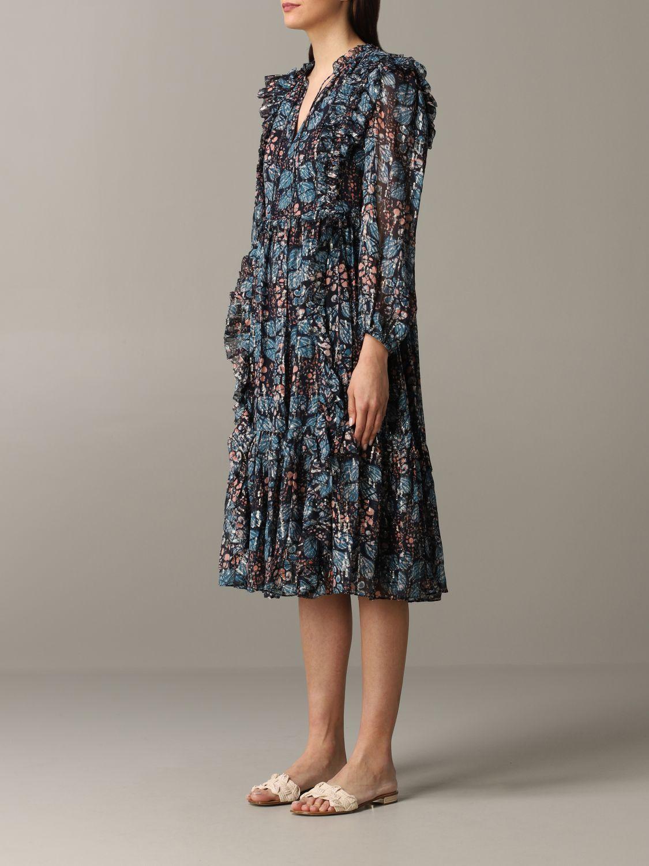 Robes Ulla Johnson: Robe à motif floral Ulla Johnson multicolore 3