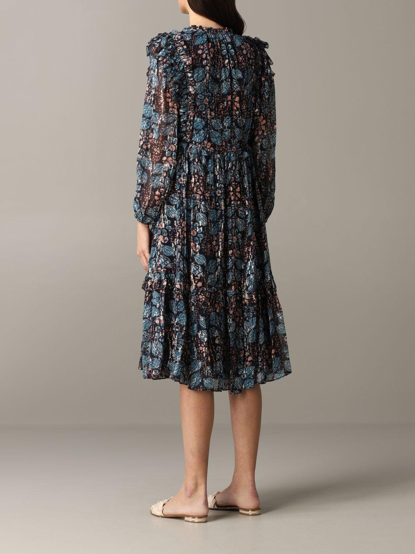Robes Ulla Johnson: Robe à motif floral Ulla Johnson multicolore 4