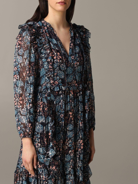 Robes Ulla Johnson: Robe à motif floral Ulla Johnson multicolore 5
