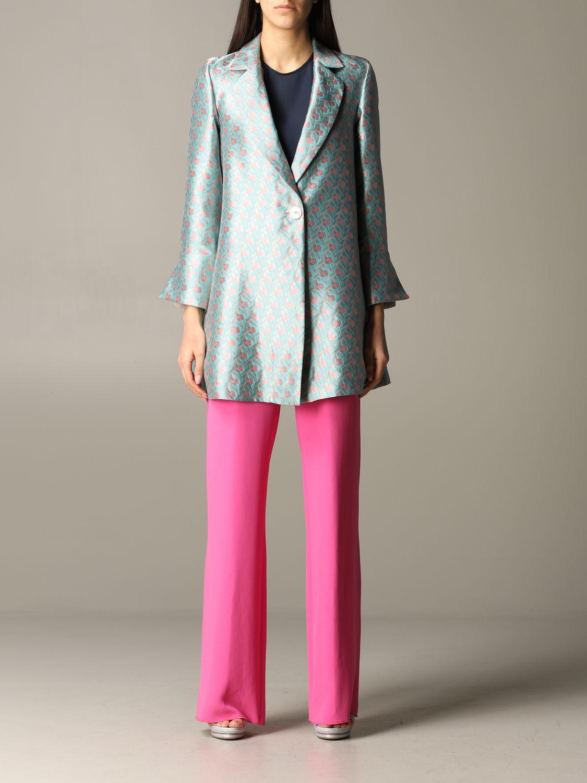 Emporio Armani patterned coat multicolor 1