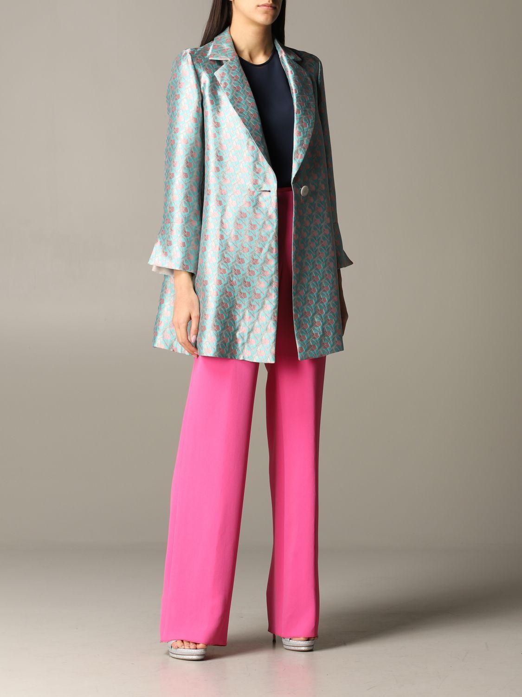 Emporio Armani patterned coat multicolor 2