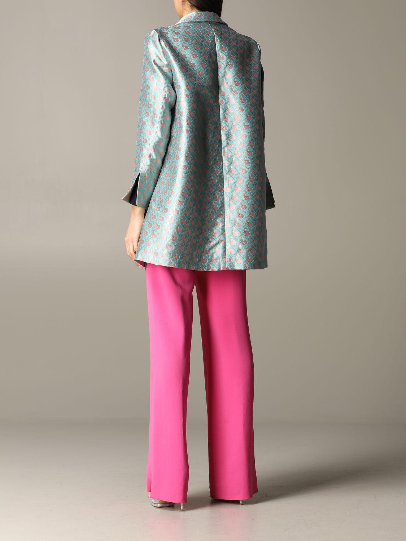 Emporio Armani patterned coat multicolor 3