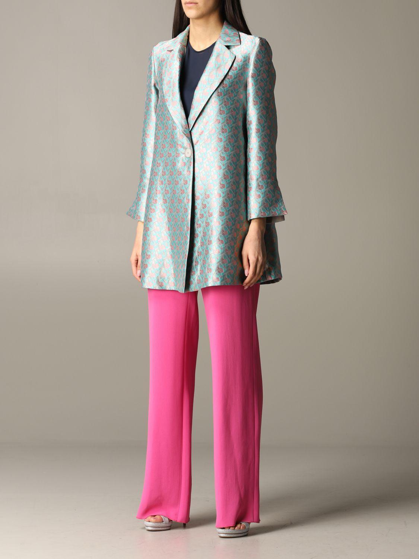 Emporio Armani patterned coat multicolor 4