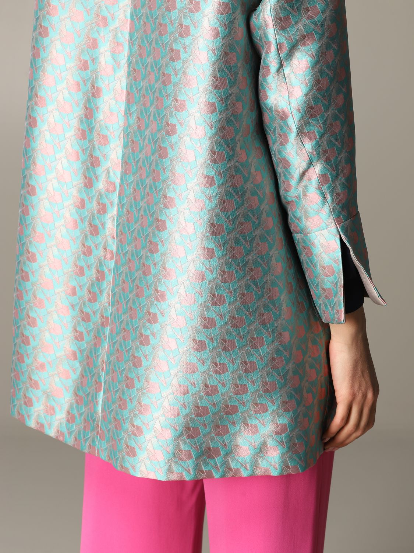 Emporio Armani patterned coat multicolor 5