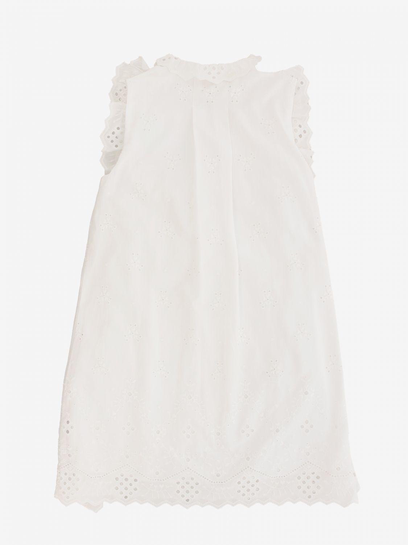 连衣裙 Alberta Ferretti Junior: Alberta Ferretti Junior Sangallo 连衣裙 白色 2